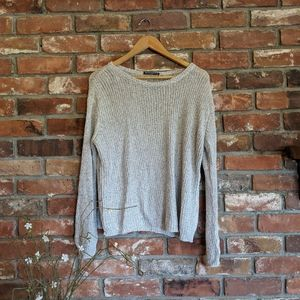 Brandy Melville One Size Knit Neutral Sweater